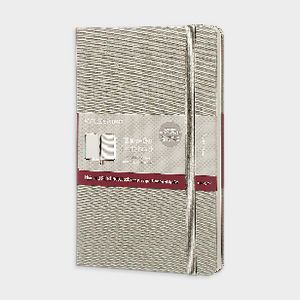 Moleskine Two-Go Medium Notebook Ruled/Plain Grey