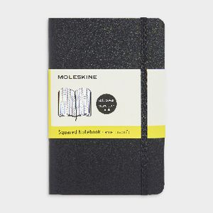 Moleskine Soft Cover Pocket Notebook Grid Black at Officeworks in Campbellfield, VIC | Tuggl