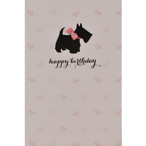Card Couture Birthday Scotty Dog