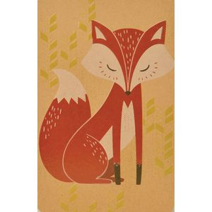 Card Couture All Occasion Blank Card Foxy