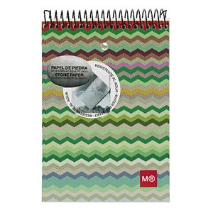 Miquelrius 104 x 150mm Notepad Zigzag Cover 130 Page