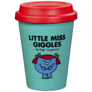 Mr Men Travel Mug Little Miss Giggles