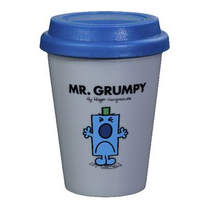 Mr Men Travel Mug 300mL Mr Grumpy