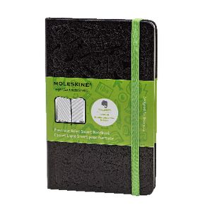 Moleskine Evernote Pocket Hard Cover Ruled Notebook Black