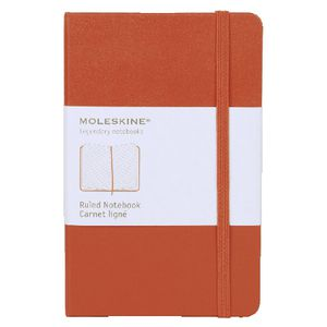 Moleskine Classic Hard Cover Ruled Pocket Notebook Red
