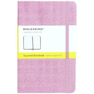 Moleskine Hard Cover Squared Notebook Magenta