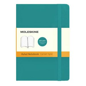 Moleskine Classic Soft Cover Notebook Underwater Blue