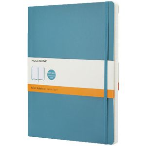 Moleskine Classic Soft Cover Notebook Large Underwater Blue
