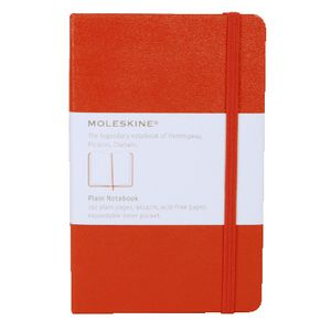 Moleskine Classic Hard Cover Plain Pocket Notebook Red