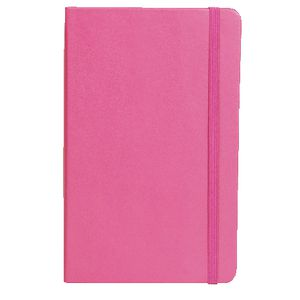 Moleskine Classic Hard Cover Ruled Large Notebook Magenta