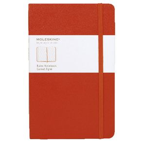 Moleskine Classic Hard Cover Ruled Large Notebook Red
