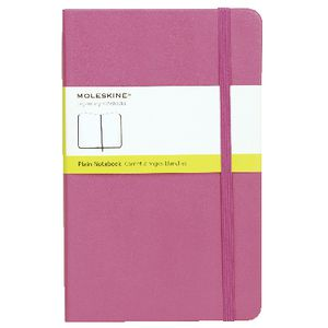Moleskine Classic Hard Cover Plain Large Notebook Magenta