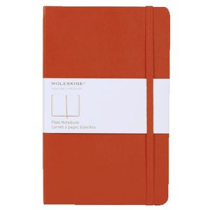 Moleskine Classic Hard Cover Plain Large Notebook Red
