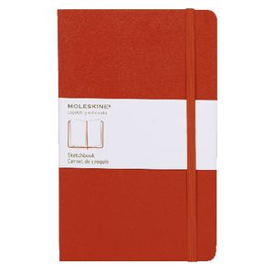 Moleskine Classic Hard Cover Large Sketch Book Red