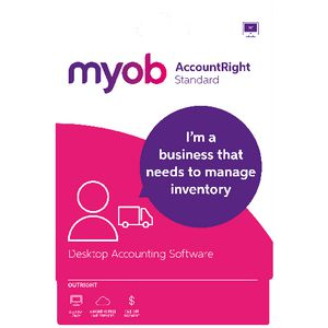 MYOB AccountRight Standard 1 PC Card