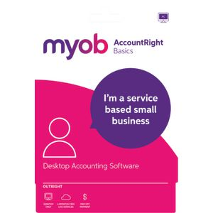 MYOB AccountRight Basics 1 PC Download