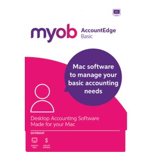 MYOB AccountEdge Basic 1 Mac Download