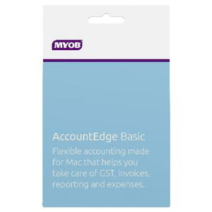 MYOB AccountEdge Basic 1 Mac Card