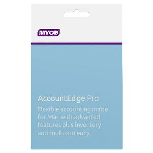 MYOB AccountEdge Pro 1 Mac Card