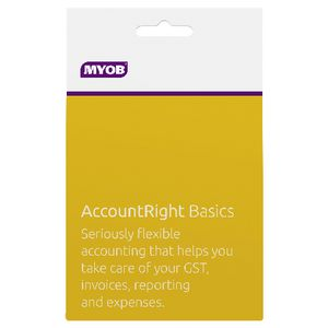 MYOB Account Right Basics 1 PC Card