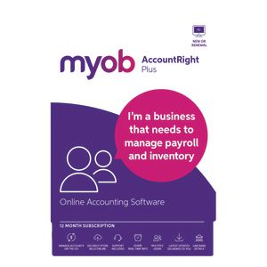 MYOB AccountRight Plus 1 PC 12 Months Download