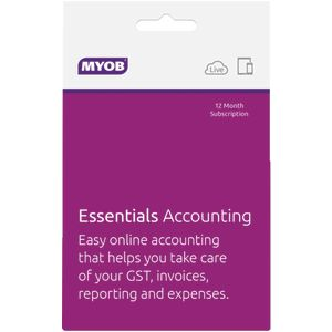 MYOB Essentials with Payroll for 1 User 12 Months Download