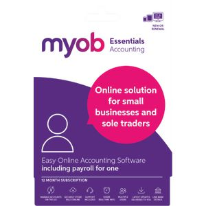 MYOB Essentials 12 Months Download