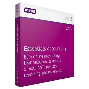 MYOB Essentials with Payroll 1 User 12 Months Box