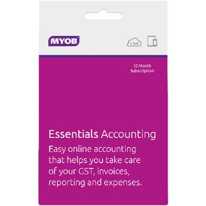 MYOB Essentials 12 Months Card