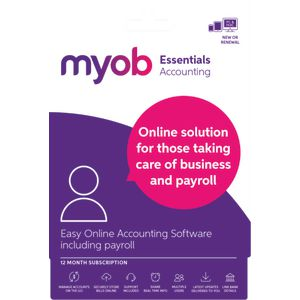 MYOB Essentials with Payroll 12 Months Download
