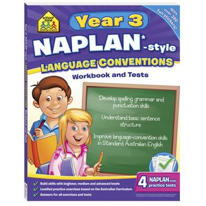 School Zone Naplan Year 3 Language Conventions Workbook