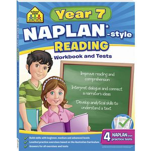 School Zone Naplan Year 7 Reading Workbook