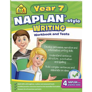 School Zone Naplan Year 7 Writing Workbook