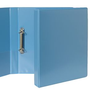 J.Burrows Insert Binder A4 2 D-Ring 25mm Blue