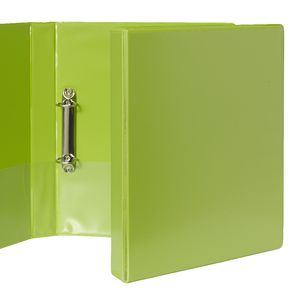 J.Burrows Insert Binder A4 2 D-Ring 25mm Green