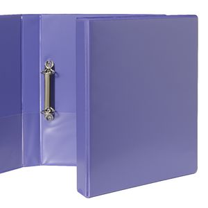 J.Burrows Insert Binder A4 2 D-Ring 25mm Purple