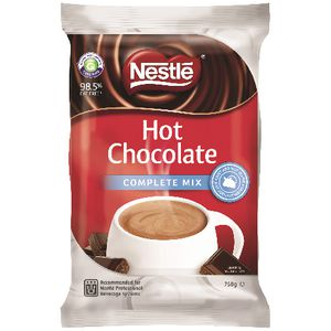 Nestle Complete Mix Hot Chocolate 750g