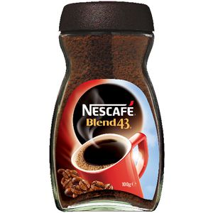 Nescafe Blend 43 Instant Coffee Jar 100g