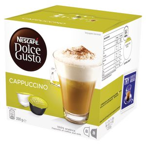 Nescafe Dolce Gusto Cappuccino Coffee Capsules 16 Pack