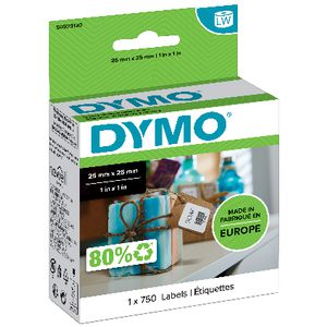 DYMO LabelWriter Multi Purpose Labels 25 x 25mm