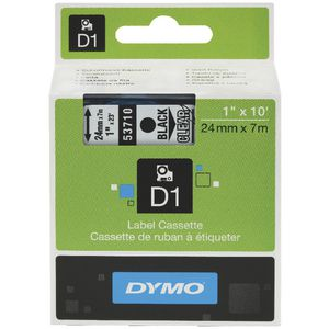 DYMO D1 Label Printer Tape 24mm x 7m Black on Clear