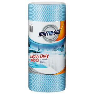 Northfork Antibacterial Cloths Blue 90 Roll