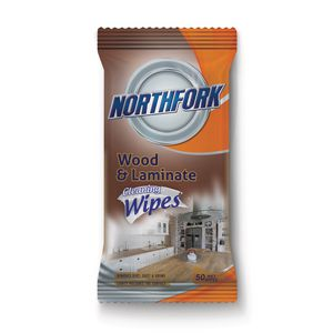 Northfork Wood Cleaning Wipes 50 Pack