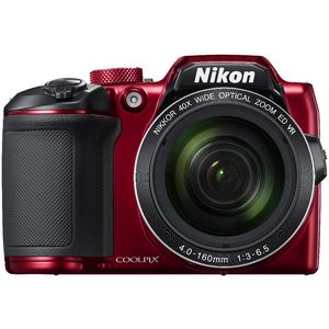 Nikon Coolpix B500 Digital Camera Red