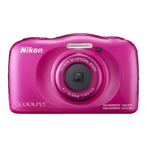 Nikon 13.2MP Digital Camera Pink W100