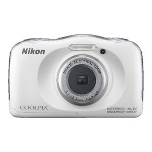Nikon 13.2MP Digital Camera White W100