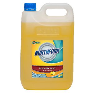 Northfork Hospital Grade Lemon Disinfectant 5L