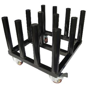 Neopost 12 Roll Media Rack