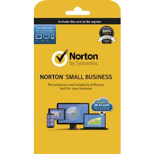 Norton Small Business 10 Devices 12 Months Card
