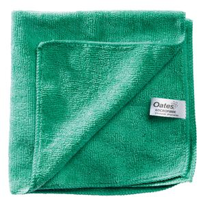Oates Microfibre Cleaning Cloth Green